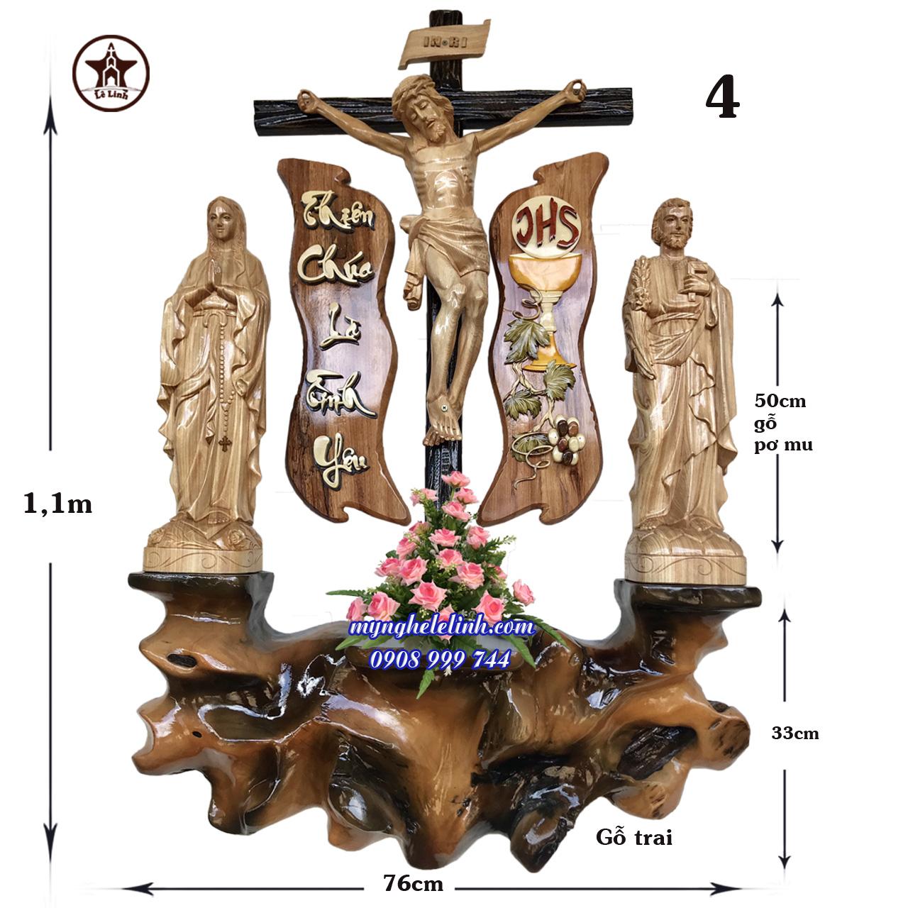 Bàn thờ Công Giáo LL-4D01