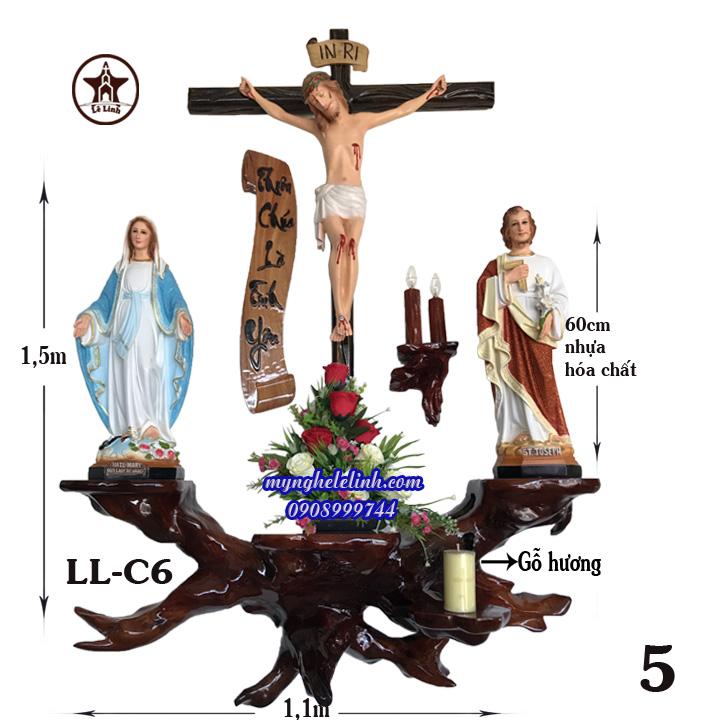 Bàn thờ công giáo LL-6C