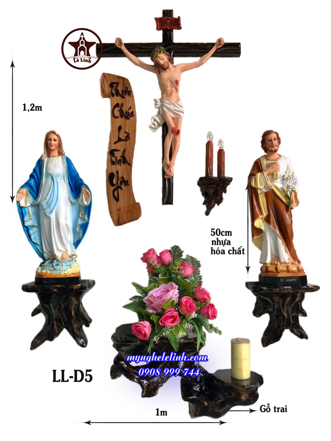 Bàn thờ Công Giáo LL-5B1