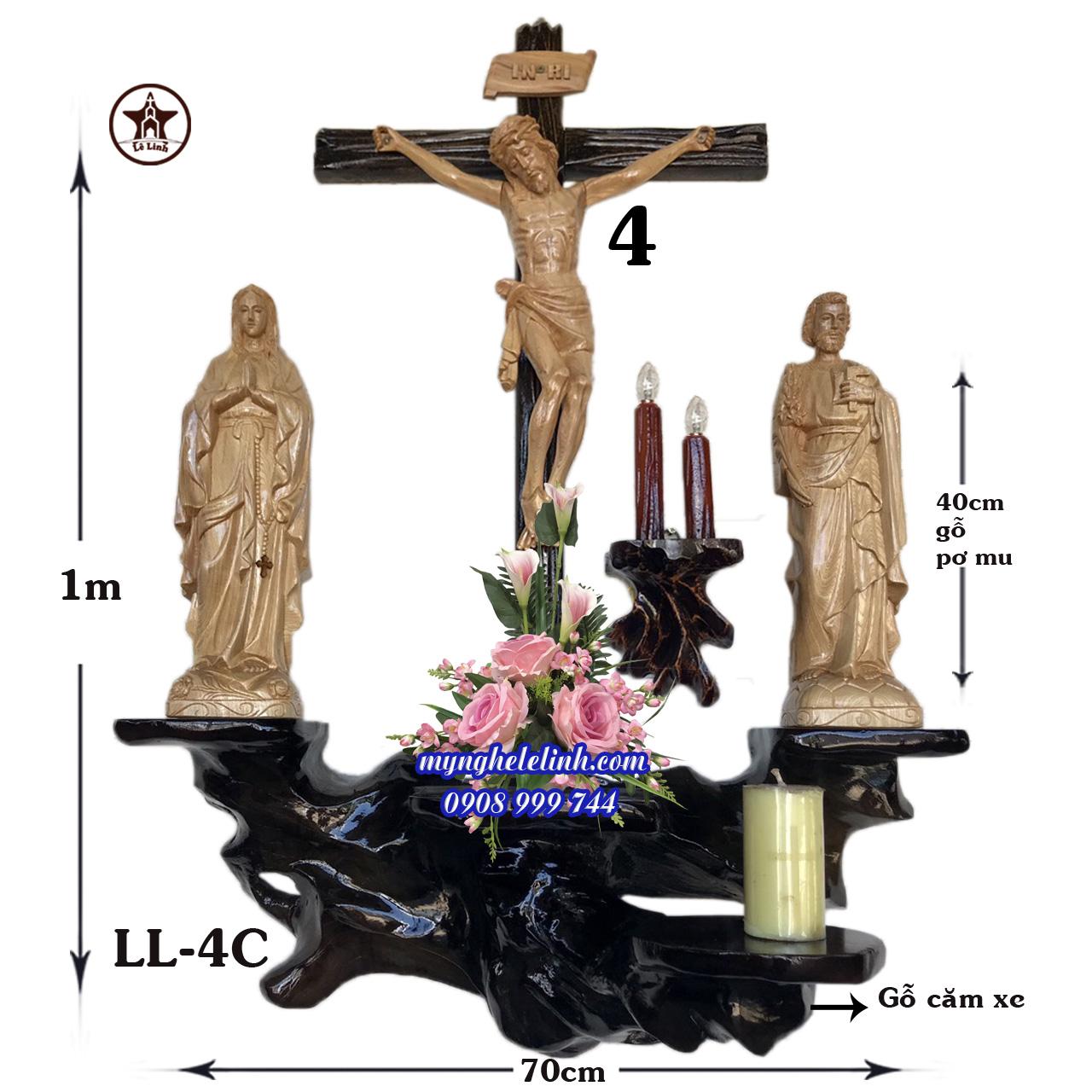 Bàn thờ Công Giáo LL-4C
