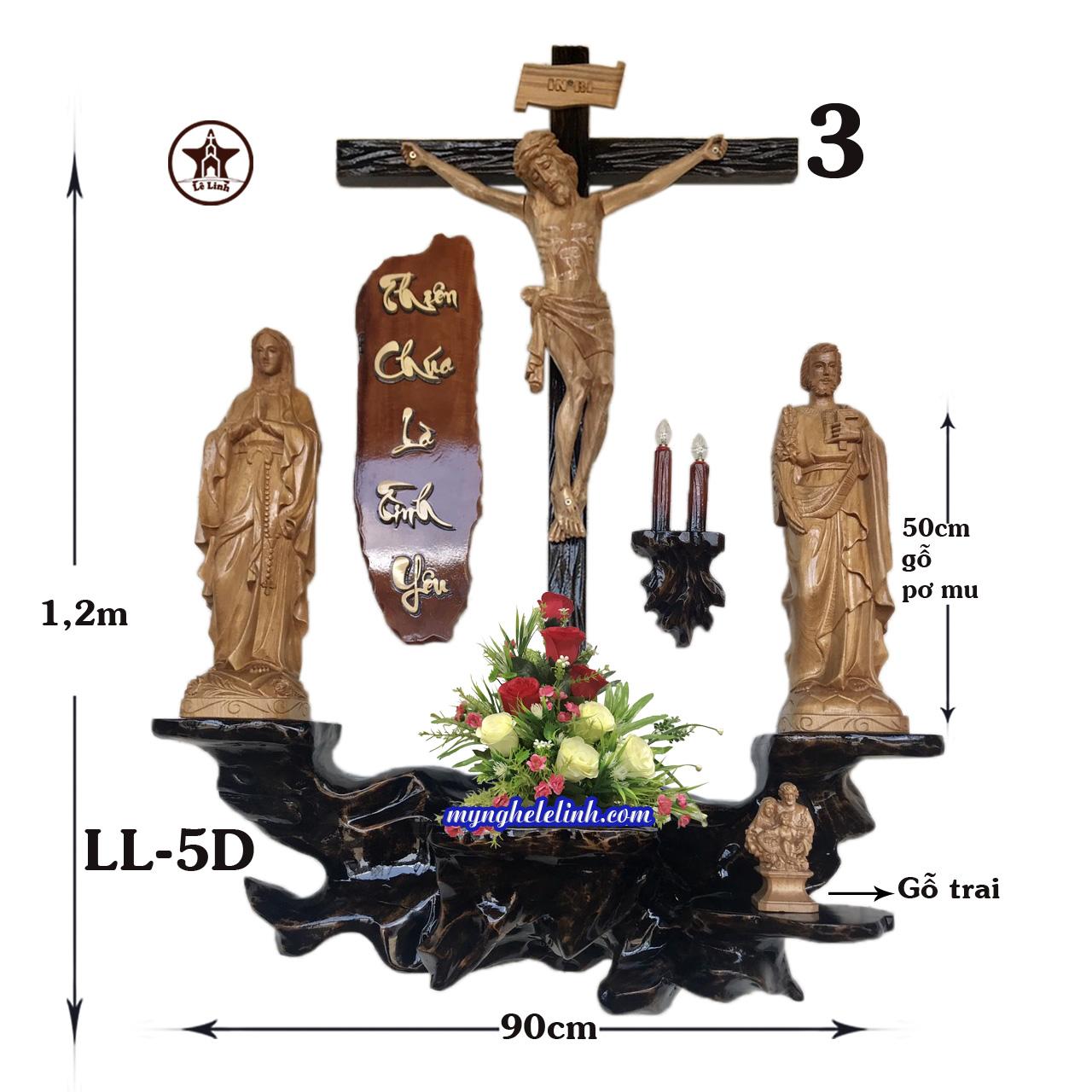 Bàn thờ Công Giáo LL-5D
