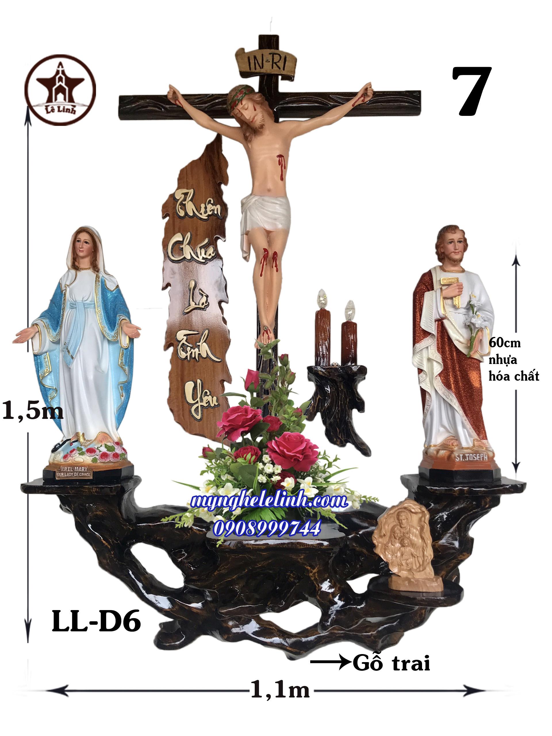 Bàn thờ công giáo LL-6D