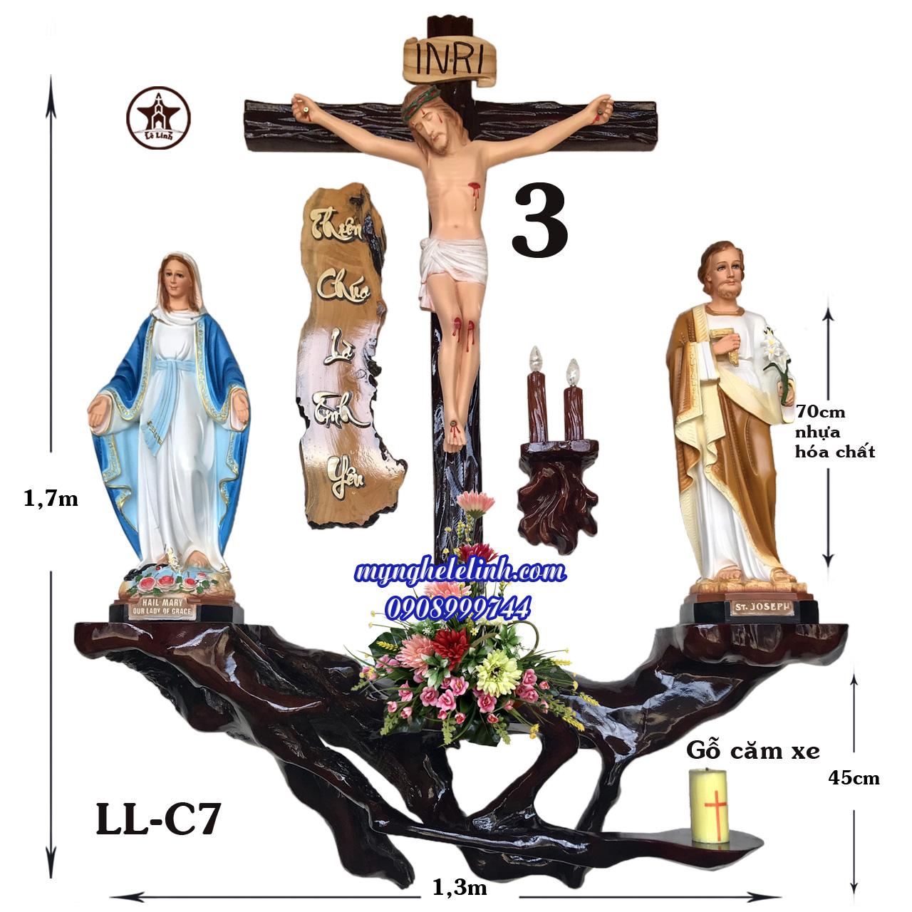 Bàn thờ Công Giáo LL-7C
