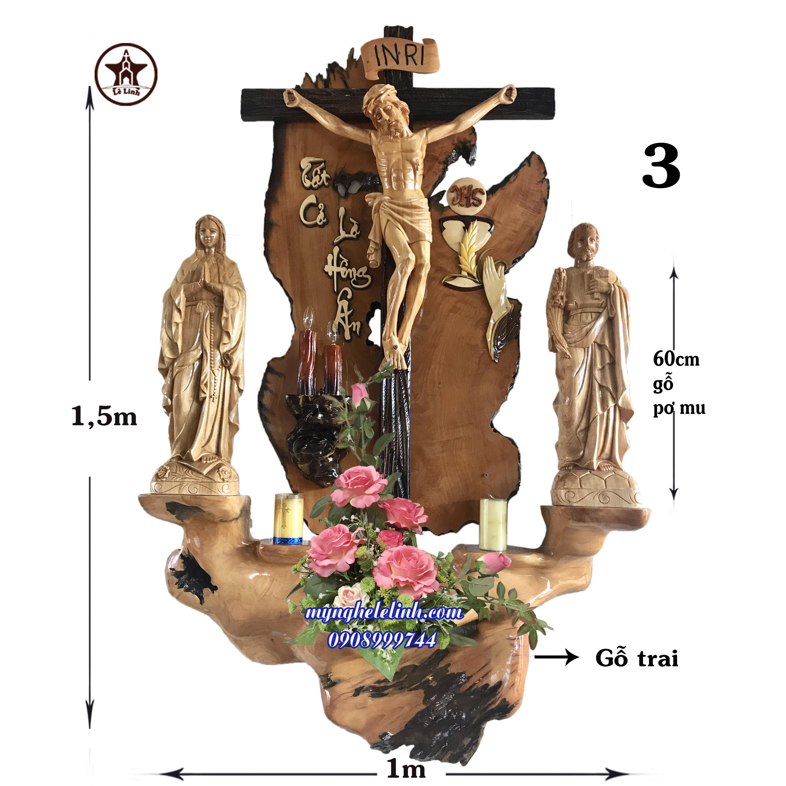 Bàn thờ công giáo LL-P143