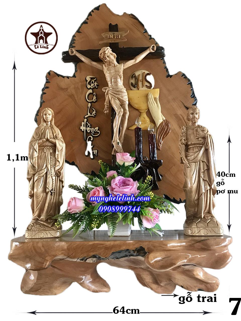 Bàn thờ công giáo LL-P83