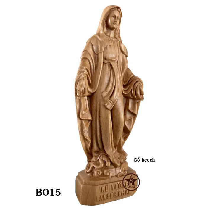 Tượng gỗ Công Giáo BO15