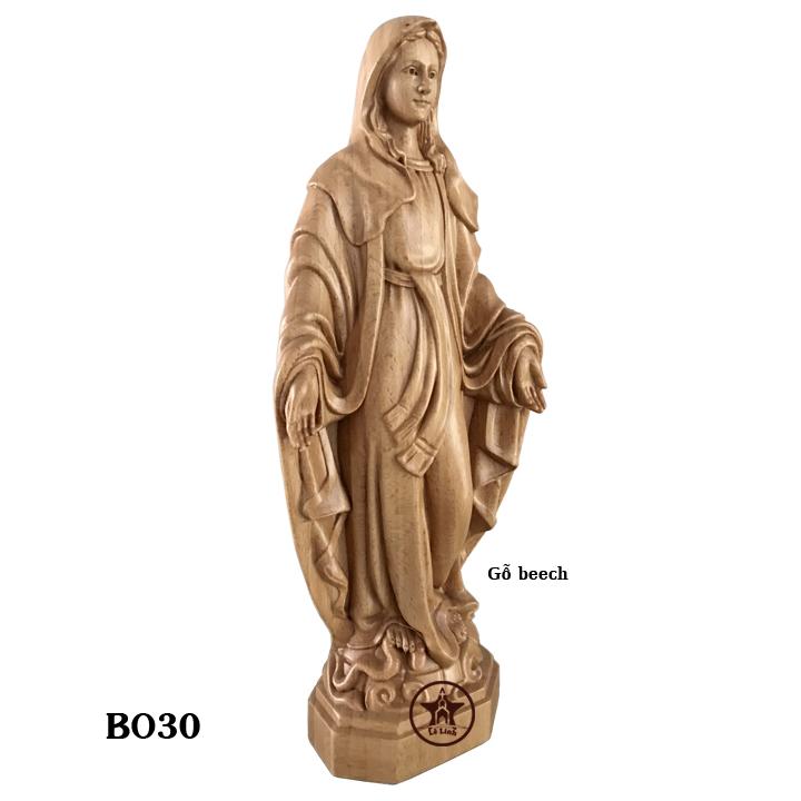 Tượng gỗ Công Giáo BO30