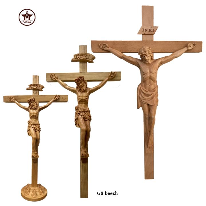 Tượng gỗ Công Giáo CN15